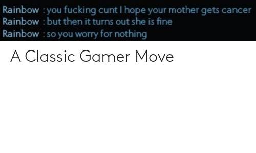 move: A Classic Gamer Move