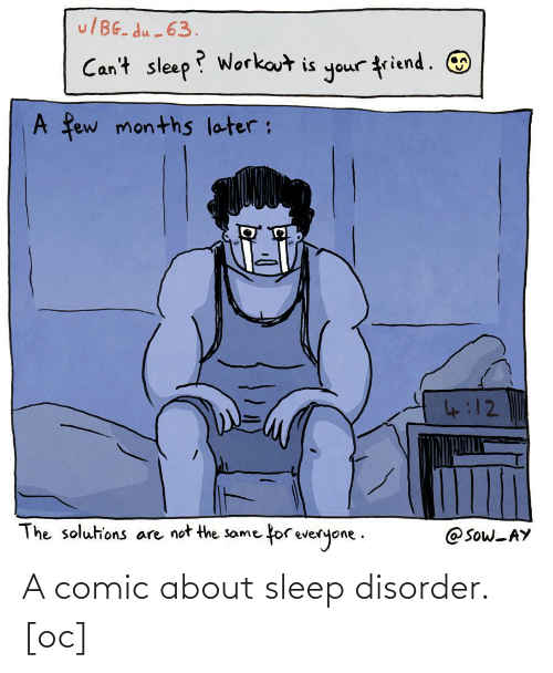 About: A comic about sleep disorder. [oc]
