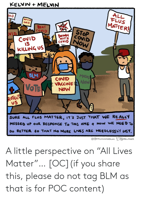 "share: A little perspective on ""All Lives Matter""… [OC](if you share this, please do not tag BLM as that is for POC content)"