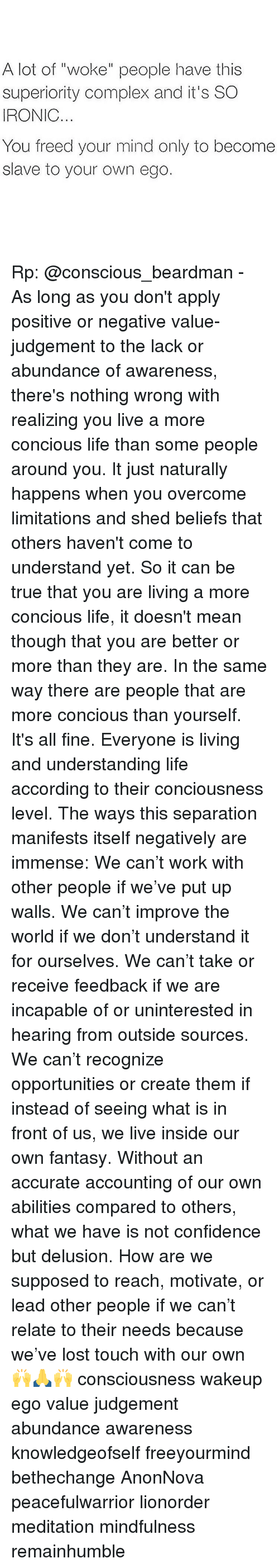 people are complex and cannot be