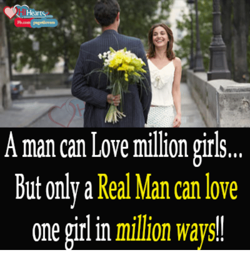 Can A Man Love Only One Woman