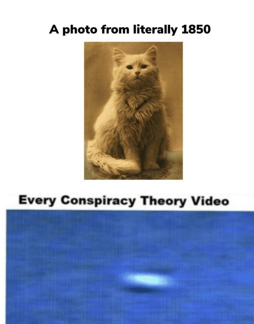 Video, Conspiracy, and Conspiracy Theory: A photo from literally 1850  Every Conspiracy Theory Video
