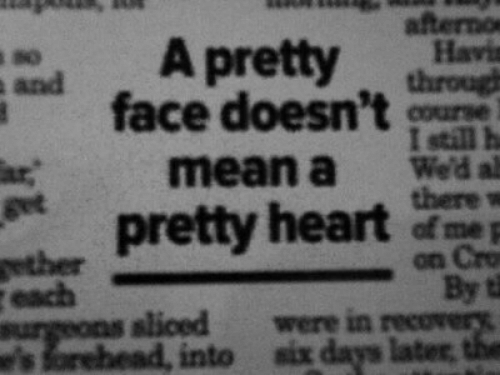Heart, Mean, and Face: A pretty  afterno  Havis  through  so  face doesn't m  !still h  mean a We'd al  there w  get  pretty heart  slioed  were in  into  six days later