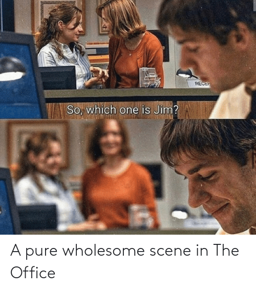 scene: A pure wholesome scene in The Office