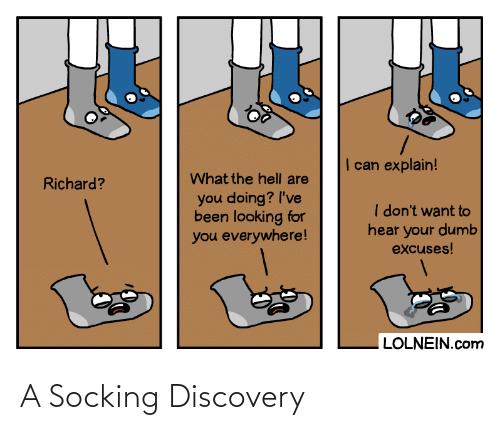 Discovery and A: A Socking Discovery