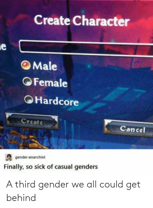 Behind: A third gender we all could get behind