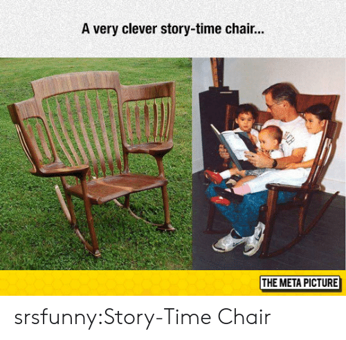 Story Time: A very clever story-time chair...  THE META PICTURE srsfunny:Story-Time Chair