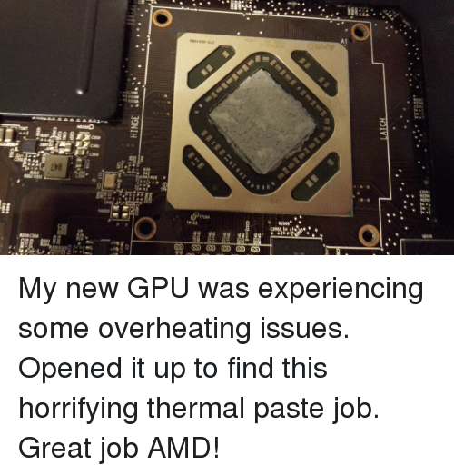 A1 14900 PIO4 TP103 O RE008 My New GPU Was Experiencing Some