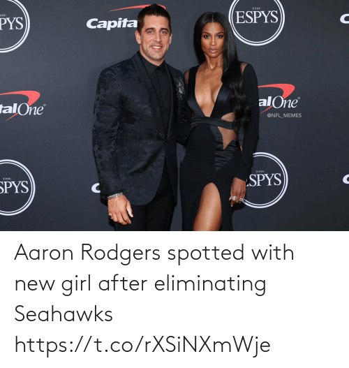Seahawks: Aaron Rodgers spotted with new girl after eliminating Seahawks https://t.co/rXSiNXmWje