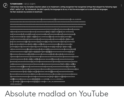 Absolute: Absolute madlad on YouTube