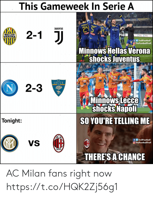 right: AC Milan fans right now https://t.co/HQK2Zj56g1