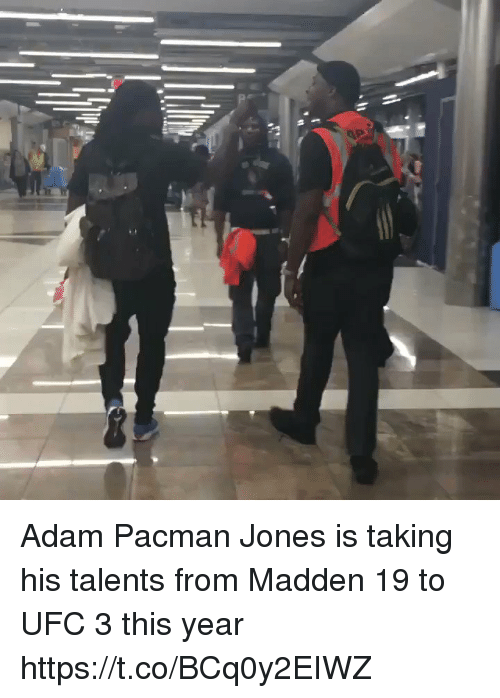 Pacman: Adam Pacman Jones is taking his talents from Madden 19 to UFC 3 this year https://t.co/BCq0y2EIWZ