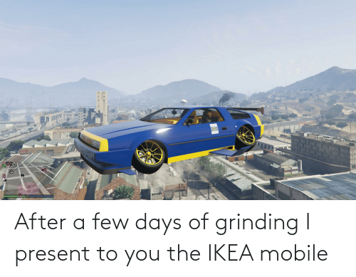 a-few-days: After a few days of grinding I present to you the IKEA mobile