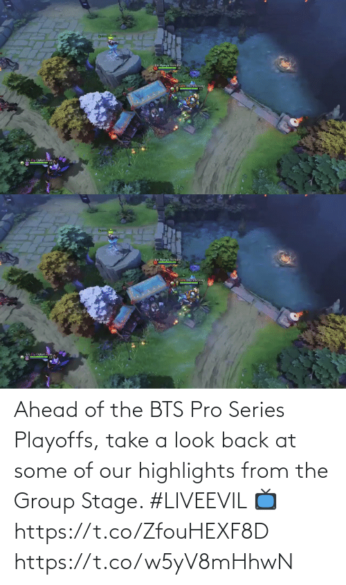 BTS: Ahead of the BTS Pro Series Playoffs, take a look back at some of our highlights from the Group Stage. #LIVEEVIL   📺 https://t.co/ZfouHEXF8D https://t.co/w5yV8mHhwN