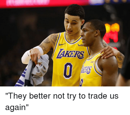 """They,  Better, and  Again: AKERS """"They better not try to trade us again"""""""