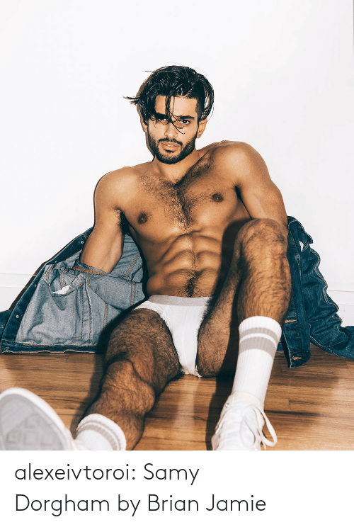 Tumblr, Blog, and Tagged: alexeivtoroi: Samy Dorgham by Brian Jamie