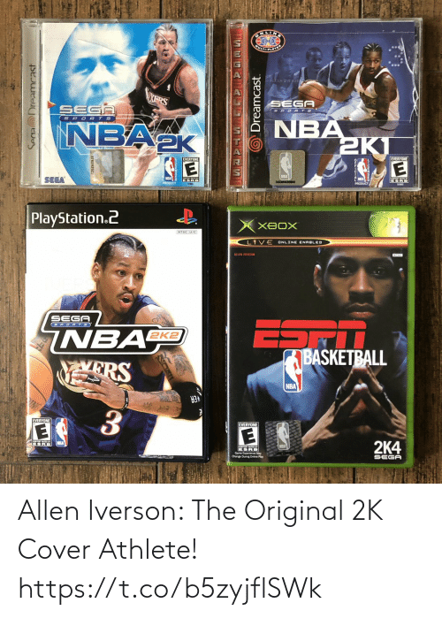 Cover: Allen Iverson: The Original 2K Cover Athlete! https://t.co/b5zyjflSWk