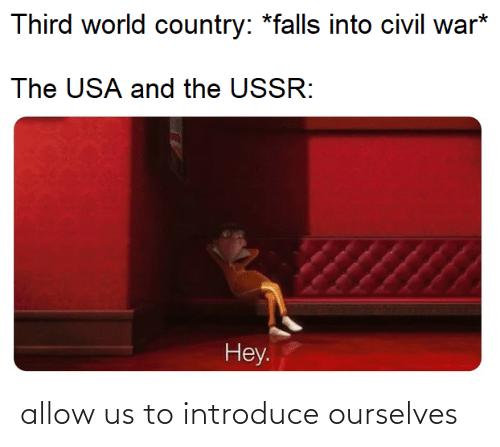 allow: allow us to introduce ourselves