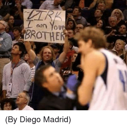 Madrid, Diego, and You: am You (By Diego Madrid)