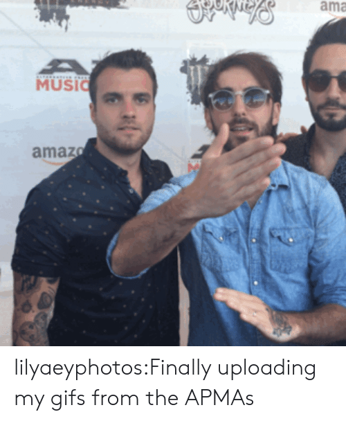Amazer: ama  MUSI  amaz lilyaeyphotos:Finally uploading my gifs from the APMAs