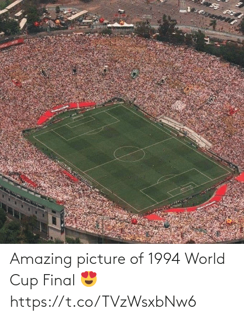 World Cup: Amazing picture of 1994 World Cup Final 😍 https://t.co/TVzWsxbNw6