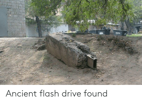 Drive: Ancient flash drive found