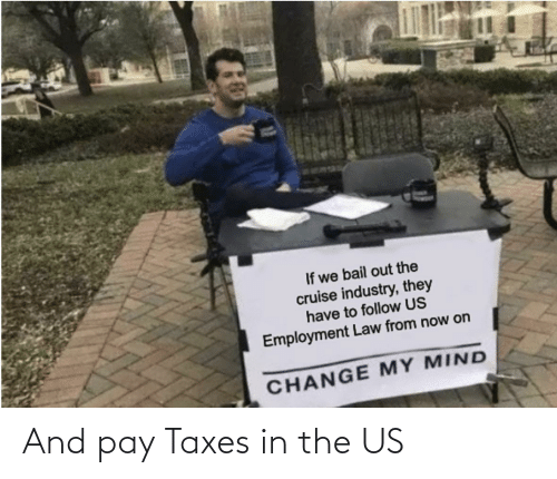 Taxes: And pay Taxes in the US