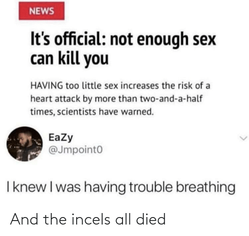 Died: And the incels all died