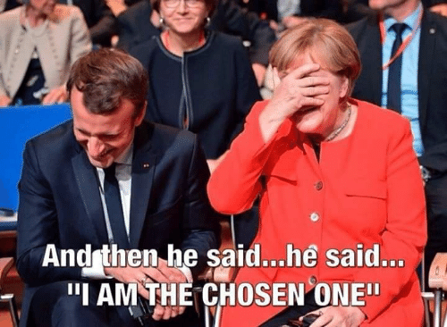 """One, Chosen, and Then: And then he said...he said...  """"I AM THE CHOSEN ONE"""""""