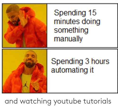 watching: and watching youtube tutorials