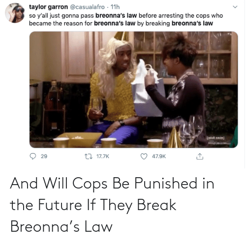 will: And Will Cops Be Punished in the Future If They Break Breonna's Law