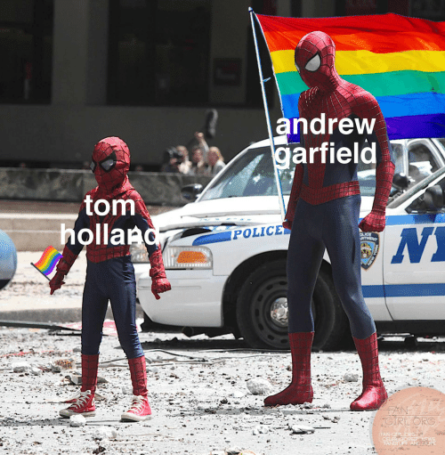 Garfield: andrew  garfield  tom  holland  POLICE  OLICE  RTMENT  FAN  CIRLORG  FAN-GIPL ORG  CELEB GOSSIP, NEWS  FANSTUFF AND MORE  ASW