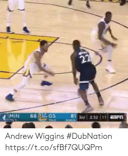 wiggins: Andrew Wiggins #DubNation   https://t.co/sfBf7QUQPm