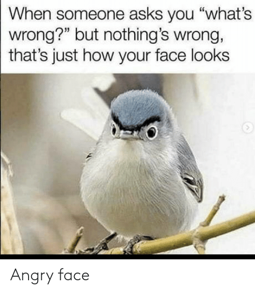 Angry: Angry face