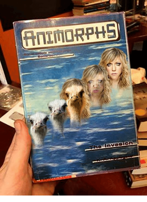 Animorphs, Memes, and 🤖: (AnIMORPHS  0 Invasion