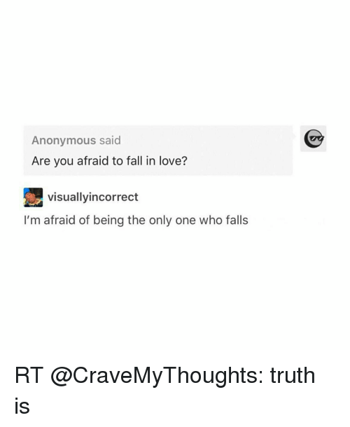 im scared of falling in love