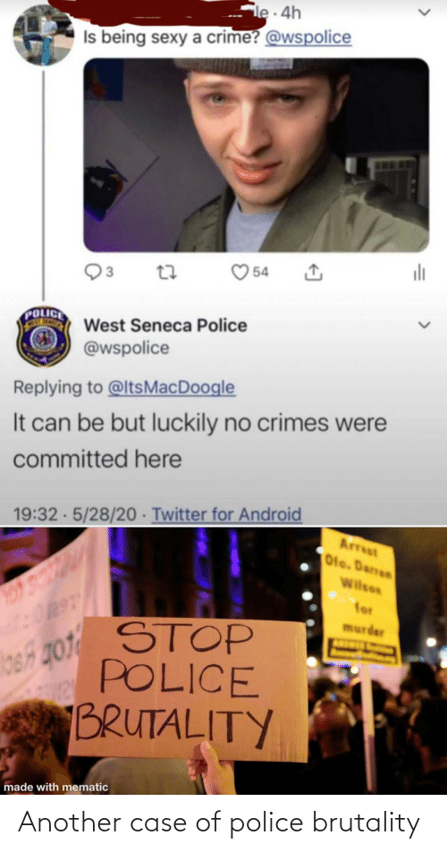 Police: Another case of police brutality