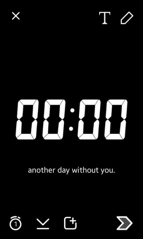 Another, Day, and You: another day without you.