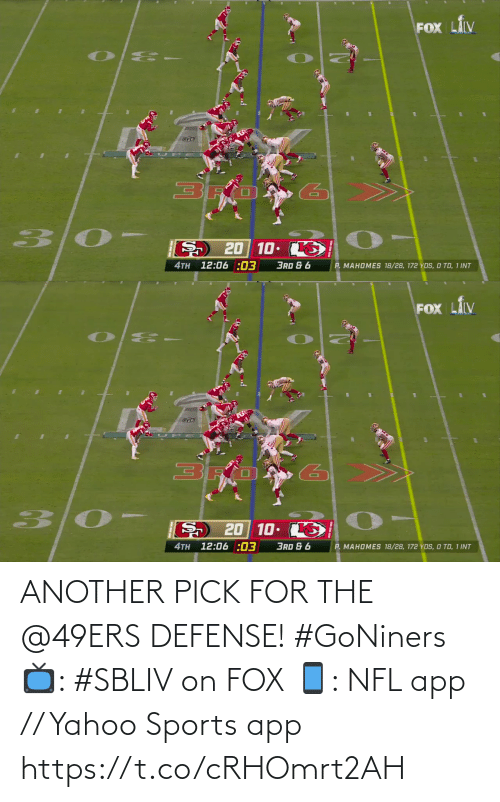 San Francisco 49ers: ANOTHER PICK FOR THE @49ERS DEFENSE! #GoNiners  📺: #SBLIV on FOX 📱: NFL app // Yahoo Sports app https://t.co/cRHOmrt2AH