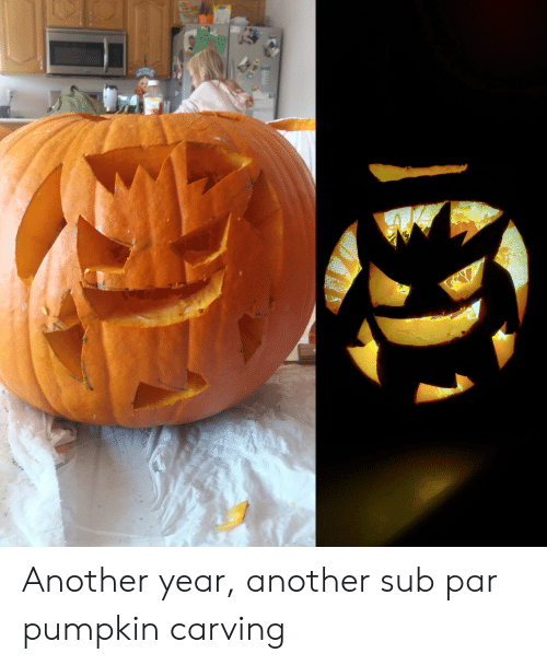 sub: Another year, another sub par pumpkin carving