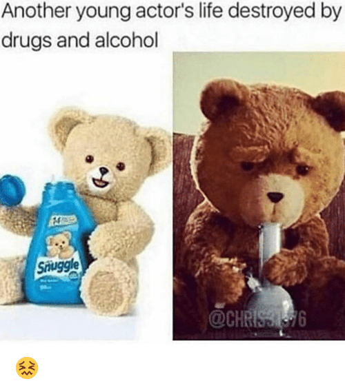 Drugs And Alcohol: Another young actor's life destroyed  drugs and alcohol  by  Suggle 😖