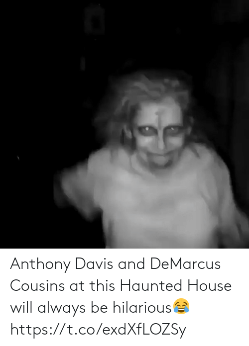 Anthony Davis: Anthony Davis and DeMarcus Cousins at this Haunted House will always be hilarious😂 https://t.co/exdXfLOZSy