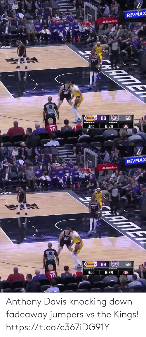 Anthony Davis: Anthony Davis knocking down fadeaway jumpers vs the Kings!   https://t.co/c367iDG91Y