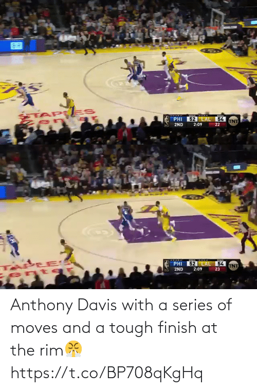 Anthony Davis: Anthony Davis with a series of moves and a tough finish at the rim😤 https://t.co/BP708qKgHq