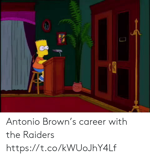 Football, Nfl, and Sports: Antonio Brown's career with the Raiders https://t.co/kWUoJhY4Lf