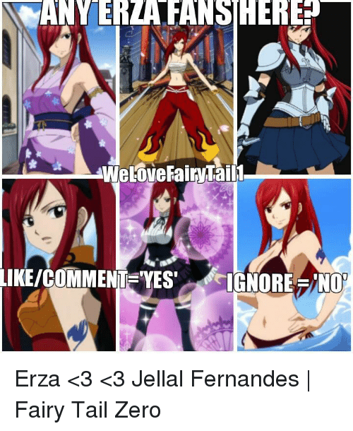 Memes, Fairy Tail, and 🤖: ANY ERLARANSIHERE  WeLoveFairTaill Erza <3 <3  Jellal Fernandes | Fairy Tail Zero