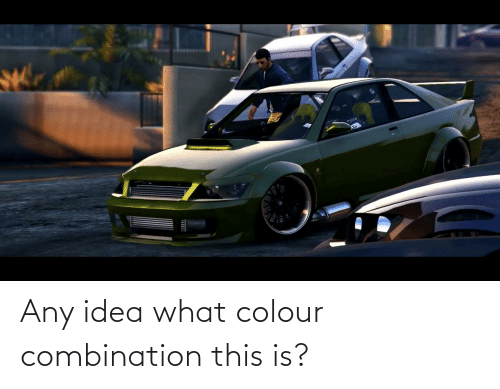 Colour: Any idea what colour combination this is?