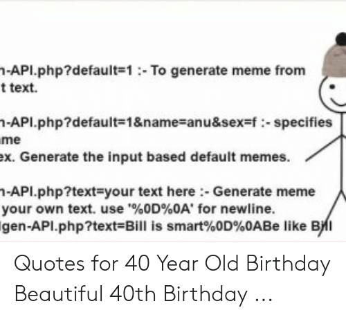 api default 1 to generate meme from t text n api default 1 name