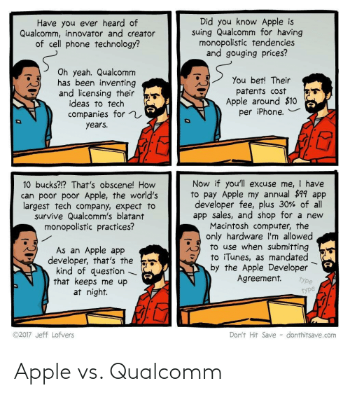 Apple: Apple vs. Qualcomm