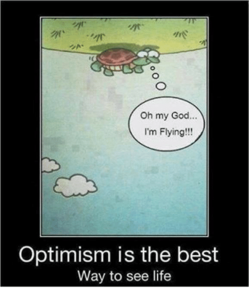 im flying: are  Oh my God...  I'm Flying!!!  Optimism is the best  Way to see life